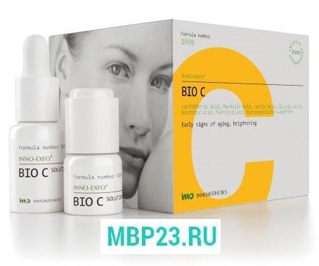 INNO-EXFO  Bio - C Космецевтический пилинг восстанавливающий с лактокомплексом и витамином С, 15 мл .jpg